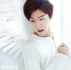 Jhope Angel Fanart