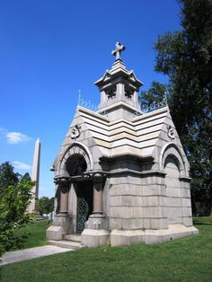 Mausoleum at the Cave Hill Cemetery, Louisville, KY. http://www.thefuneralsource.org/cemky.html