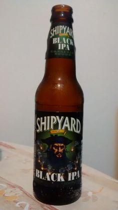 Cerveja Shipyard Black IPA , estilo Black IPA, produzida por Shipyard Brewing Company, Estados Unidos. 5.9% ABV de álcool.