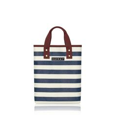 nother Horizontal Stripe Book Bag (Navy)