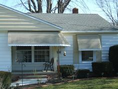 Fairview Home Improvement porch and window awning project in the Cleveland, Ohio area  | Curb Appeal | Home decor | Ranch House