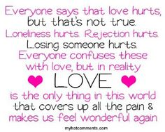Love just is that... Love.