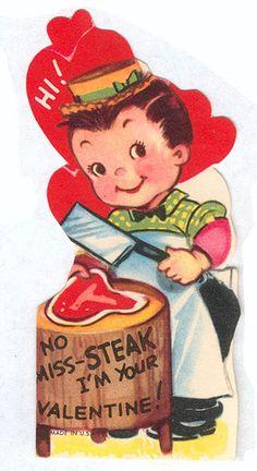 No Miss-Steak! by pageofbats, via Flickr