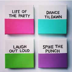 Kate spade canvases