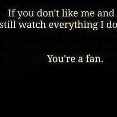 Oh, I have one of those!!  My own FanGirl!