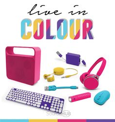 Life shouldn't be boring... and your tech products shouldn't be either. So bring colour into your life with this fun. bright and happy range. - SourceHub Group