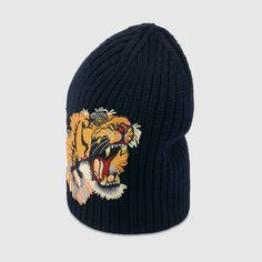 4487035b10a Wool hat with tiger. Gucci BeanieBeanie HatsScarf ...