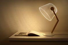 神奇的照明體驗,偽 3D LED 檯燈 BULBING LAMP » ㄇㄞˋ點子靈感創意誌