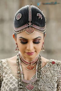 Indian Wedding Jewelry, Indian Bridal, Bridal Jewelry, Bollywood Wedding, Saree Wedding, Sri Lankan Bride, Bridesmade Hair, Marriage Dress, Special Occasion Outfits