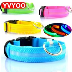Nylon LED Dog Collar Light Night Safety LED Flashing Glow Pet Supplies Pet Cat Collars Dog Accessories For Small Dogs Collar LED - soy luna - Accesorios para Perros Led Dog Collar, Up Dog, Doja Cat, Dog Activities, Cat Collars, Puppy Collars, Dog Leash, Dog Harness, Dog Supplies