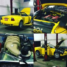 Maserati Coupe getting timing chain repair done at CRS Oakville. Come and see why we are becoming Oakville's premium automotive service and sales facility! Cars For Sale, Car Sales, Chain, Cars For Sell, Chain Drive