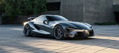 When it comes to sex appeal, the new Toyota Supra FT-1 is by far the sexiest thing we have ever seen. The eloquent graphite paint was revealed for Pebble Beach.
