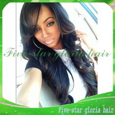 Find More Wigs Information about Small/Medium/Large Cap Size Unprocessed Glueless Full Lace Brazilian Virgin Wigs Long Black Wavy Human Hair Wigs For Black Women,High Quality Wigs from Five-star Gloria hair products Co.,LTD on Aliexpress.com