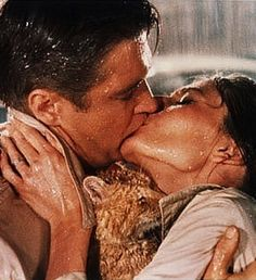 George Peppard and Audrey Hepburn -Breakfast at Tiffany's, 1961