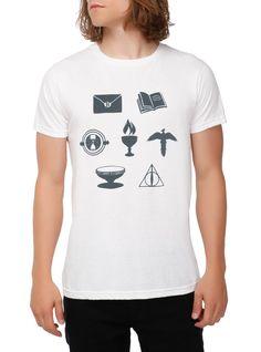 Harry Potter Seven Symbols T-Shirt 2XL   Hot Topic