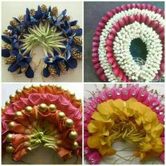 Wedding Hair Flowers, Bridal Flowers, Flowers In Hair, Flower Hair Accessories, Wedding Hair Accessories, Flower Jewelry, Indian Bridal Hairstyles, Wedding Hairstyles, Flower Ornaments