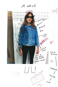 """Alexa Chung On Why Skinny Jeans Will Never Die #refinery29  http://www.refinery29.com/alexa-chung-ag-jeans-collection#slide-9  Who is your ultimate denim icon?""""I think either Linda McCartney or the Runaways or [Jane] Birkin. There are many.""""..."""