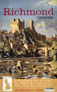 Richmond Yorkshire : See Britain by Train
