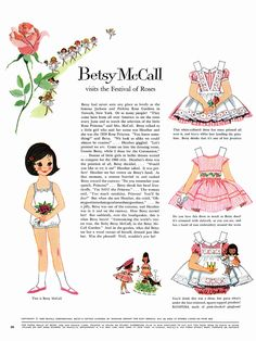 June 1960 Betsy McCall Paper Doll | by julia edna on Flickr