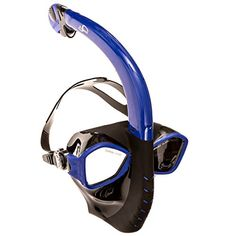 2016 OlySpeed® Alien Innovation Snorkel Mask For Diving & Snorkeling - Full-Face, Easy, Free Breathing Adjustable Mask For Adults & Youth -Dry Snorkel, Anti-Fog & Anti-Leak Technology - Blue (Add Dry Snorkel For Free) - http://scuba.megainfohouse.com/2016-olyspeed-alien-innovation-snorkel-mask-for-diving-snorkeling-full-face-easy-free-breathing-adjustable-mask-for-adults-youth-dry-snorkel-anti-fog-anti-leak-technology/