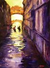 Bridge of Sighs by Ryan Fox. While plein air painting Ryan came by and said he was waiting for his big juicy colors to dry. To this day I use that phrase to remember to use big juicy colors.