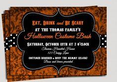 Party: Halloween Party Invitation Wording Is Your Newest Idea Of Artistic Party Invitation 8