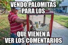 Vendo Palomitas Meme