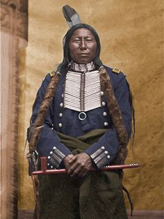 Crowking, Hunkpapa Sioux-Chief ,participant Little Big Horn battle