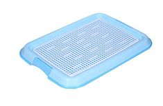 Healthy Puppy Dog Indoor Potty Training Holder Toilet Pad Potty Trays(Blue) >>> Check this awesome product by going to the link at the image. (This is an affiliate link)