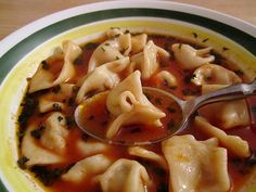 13. Manti  These Turkish dumplings are a little similar to ravioli, but in a totally Turkish way. The small dumplings are filled with lamb or beef and served with yogurt, butter and spices