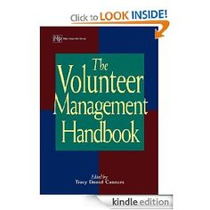 The Volunteer Management Handbook (Wiley Nonprofit Law, Finance and Management Series Volunteer Management, Volunteers, Non Profit, Great Books, Finance, Law, Reading, Board, Ideas