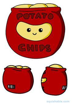 Squishable Potato Chips