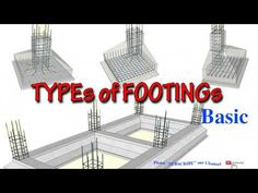 Footing Foundation, Building Foundation, House Foundation, Civil Engineering Design, Civil Engineering Construction, Engineering Notes, Cout Construction Maison, 20x40 House Plans, Swimming Pool Construction