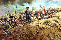 """The Battle of Bunker Hill June 17, 1775, 1000 men dug in on breed's hill. They were up against 2200 british soldiers. The famous order for them was """"don't fire until you see the whites of their eyes!"""" They waited for the british to be only a few steps away, before firing a deadly volley forcing the british to retreat. The british attacked again, same result, then again, but that time they fought hand to hand. There were 1000 british casualties and only 400 colonial…"""