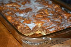 Hugs & CookiesXOXO: CINNAMON ROLL CAKE