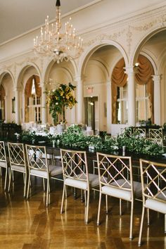 reception seating - photo by w&e photographie http://ruffledblog.com/chic-wedding-at-an-atlanta-driving-club