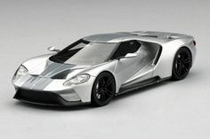 The Ford GT Concept - 2015 Chicago Auto Show version. 1:43-scale resin model car by TSM, now available at Model Citizen.