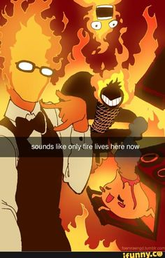 //After Undyne's place was lit on fire.//