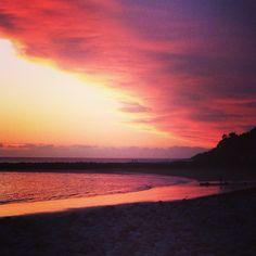 Sunset at West Shore , Llandudno