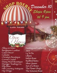 7529c9de8f4 Complete your holiday shopping on the Hill Country Mile with local  merchants who will be staying open until 9 PM for the Thursday Late Night  Open House.