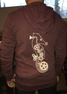 Love this hoodie! Lightweight, perfect for layering, and a great color.  www.crabterror.com