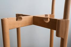 Paul Loebach's PEG chair slots together (suggestively)