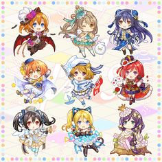 Love Live School Idol Project, Cute Songs, Spice And Wolf, Tokyo Mew Mew, Chibi Girl, Childhood Friends, Cute Little Girls, Anime Chibi, Anime Love