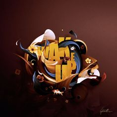 WAKE UP by David DELIN, via Behance