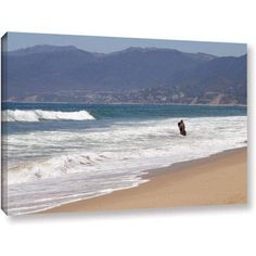 Dan Holm Alone Together Gallery-Wrapped Canvas, Size: 32 x 48, Brown