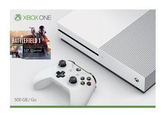 Microsoft Xbox One S 500GB Battlefield 1 Console Bundle with 4K Ultra HD Blu ray White    Bitcoin shop is a professional and reliable online Bitcoin shop accepting bitcoin payment, Visit our site pcbitcoinshop.com to see more products cataloq and price list of products.