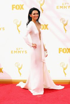 Nazanin Boniadi in Stephane Rolland. Photo: Getty Images.