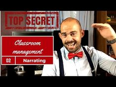 Classroom management: Narrating - YouTube