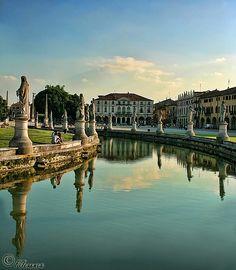 """Confidencias : El """"Prato della Valle"""" en Padua (Italia) Italia Italia wait for me!!!"""