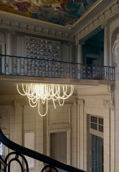 LED Chandelier by Mathieu Lehanneur